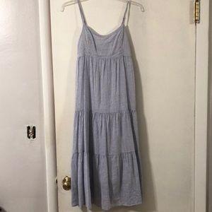 SOPRANO Blue & White Stripe Dress